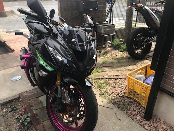 バイク 盗難 ケニア
