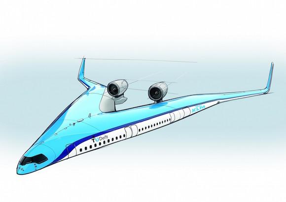 フライングV Flying-V V字型 旅客機