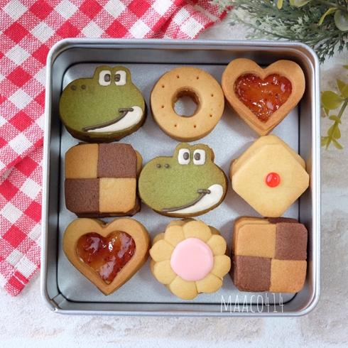 ヨッシー クッキー ヨッシーのクッキー