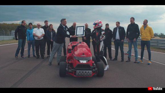ホンダ 芝刈り機 魔改造 ギネス世界記録