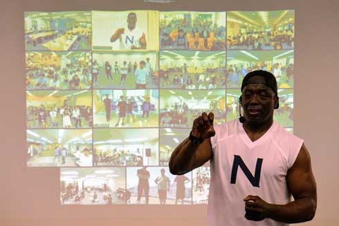 N高等学校 BILLY'S NET CAMP ビリーズブートキャンプ ビリー・ブランクス 講師 トレーニング