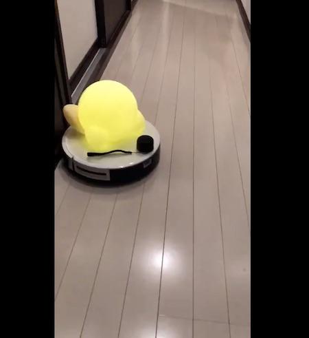 カービィ掃除機