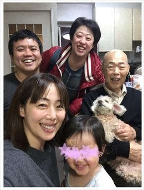 井上和香 父親 ブログ 父の日 訃報 夫 娘