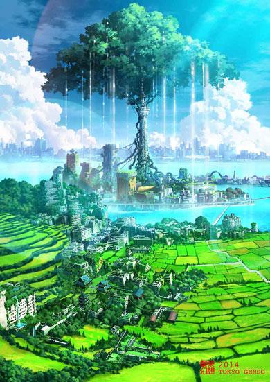 まるで人類滅亡後の景色のよう 荒廃した東京描く幻想的なイラストに反響 2 2 ねとらぼ