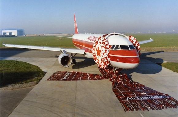 エアカナダ 飛行機 かわいい マフラー イヤーマフ