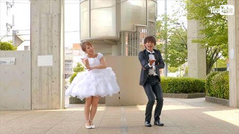 辻希美 杉浦太陽 踊ってみた ハッピーウェディング前ソング ウエディングドレス 結婚式