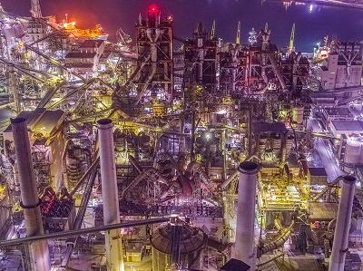 美しい工場の写真