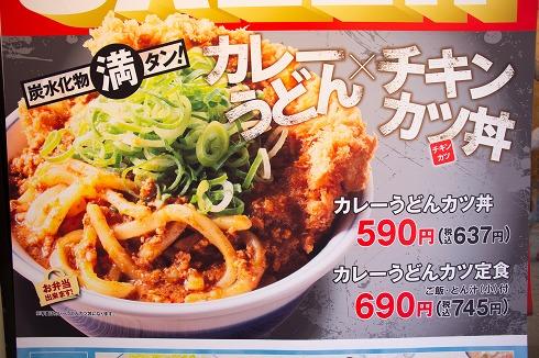 カレーうどんカツ丼
