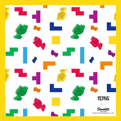 ハローキティ テトリス サンリオ 周年 記念 コラボ ブラウザ ゲーム