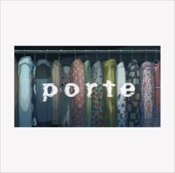 主題歌「MOIL」収録の2nd EP「porte」 通常盤ジャケット