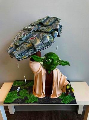 びっくり創作ケーキ