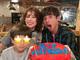 「キツネさん 31さい HBD おめでとう」 仲里依紗、中尾明慶の誕生日をド派手ケーキでお祝い