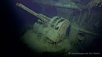 摩耶 沈潜捜索 日本海軍 戦艦 RV/Petrel