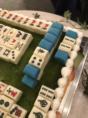 麻雀ケーキ