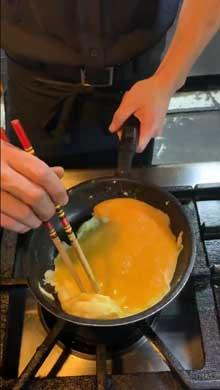 誰でも キレイにできる オムレツ 作り方 調理 料理