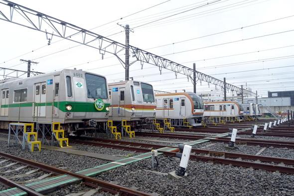 東京メトロ 新木場車両基地