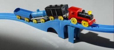 プラスチック汽車・レールセット