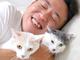 サンシャイン池崎、猫メインの書籍発売けってイエエエエイ! 風神&雷神との生活をつづったものに