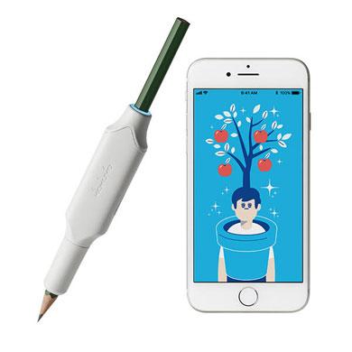 しゅくだいやる気ペン コクヨ 鉛筆 分析 宿題 IoT 文具 スマホ アプリ