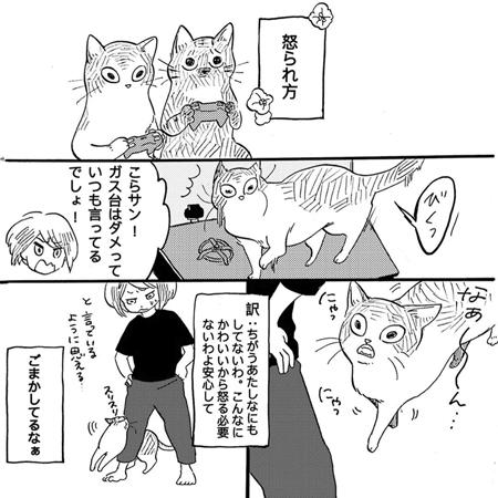 怒られ方1