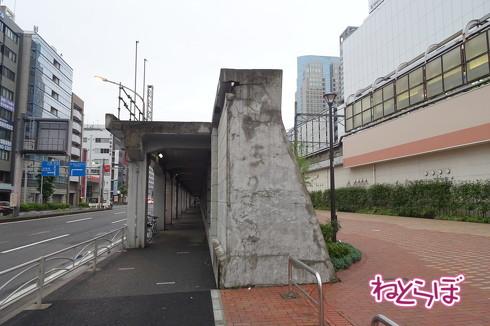 東横線桜木町駅高架