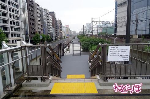 東横線跡地遊歩道