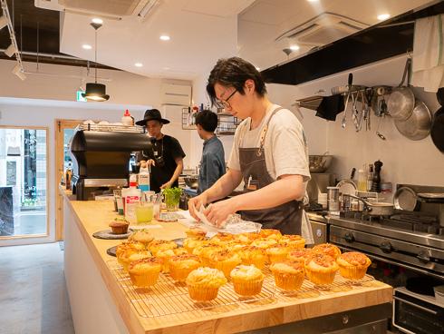 調理台の写真