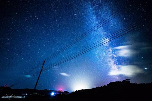 長崎県 離島 五島 撮影 本気 星空 きれい 夜空 青