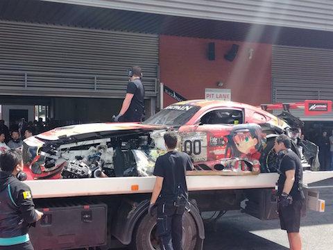 グッドスマイルレーシング Fate 初音ミク プロメア 痛車 スパ24時間レース
