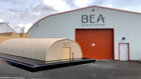 BEAにあるダンボールBEAの写真