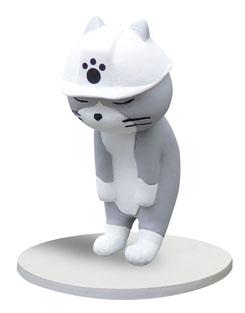 フィギュア 仕事 猫