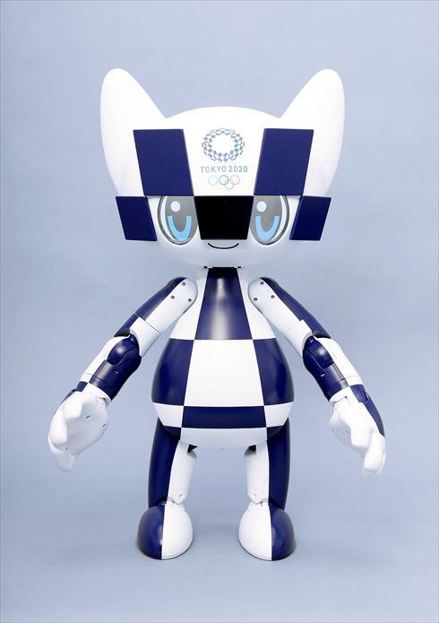 マスコットロボット「ミライトワ」