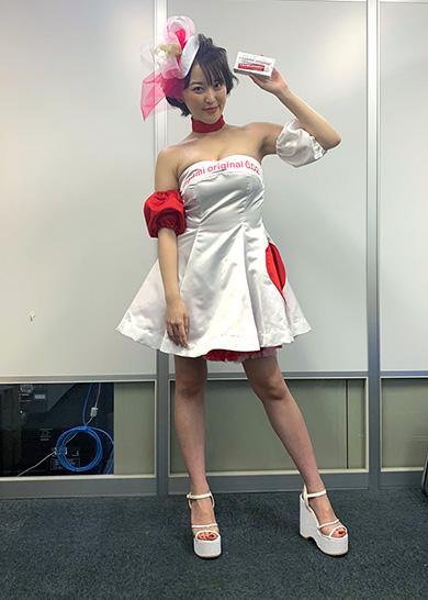 忍野さら サガミオリジナル 宣伝大使 11代目