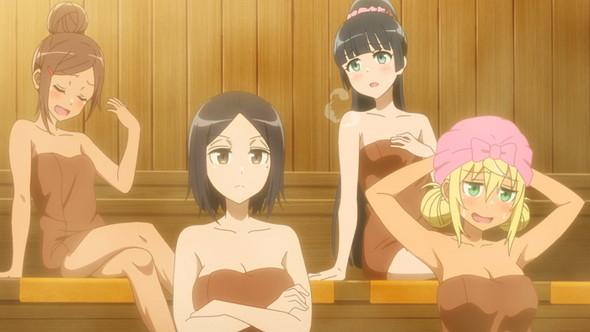 上腕二頭筋の大きさを測りながら見たいアニメ今季No.1「ダンベル