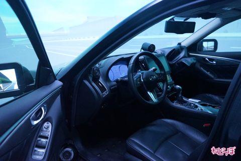 日産自動車 テクニカルセンター ドライブシミュレータ