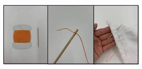 糸があっても針がない