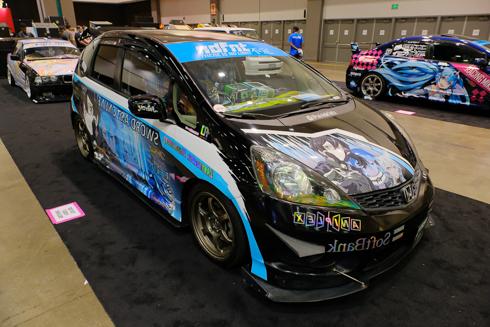 北米 アメリカ AnimeExpo 痛車