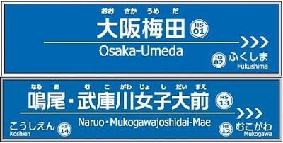 大阪 梅田 駅名 変更 改名 どこ 阪神電鉄 阪急電鉄