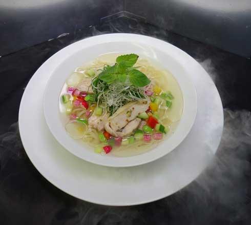冷ミントら〜麺 ロッテ ミントオイル ラーメン 香り 麺屋武蔵
