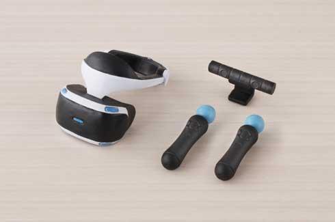 PlayStation 4 VR 1/12 スケール フィギュア用 カプセルトイ 組み合わせ figma