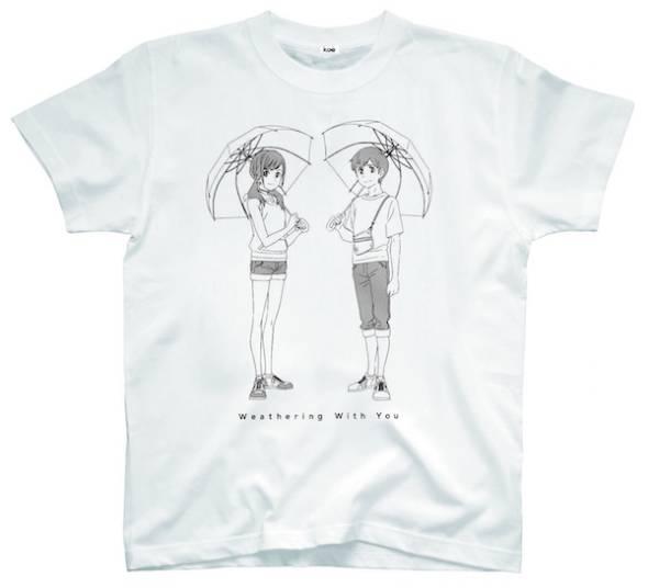 「天気の子」コラボグッズ「TシャツA」」イメージ