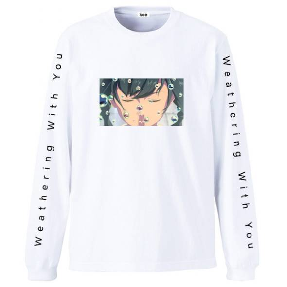 「天気の子」コラボグッズ「ロングスリーブTシャツA」イメージ