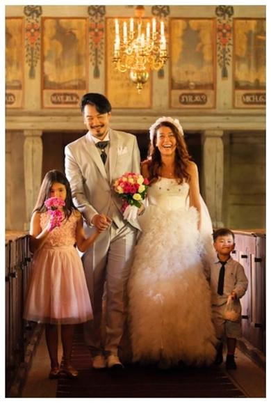 lilico 小田井涼平 スウェーデン 家族 銀磨き 結婚式