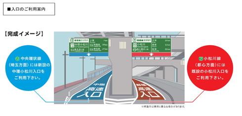 小松川入口完成イメージ