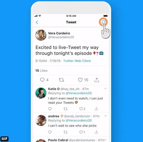 Twitter返信通知機能01