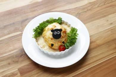 「シャーリーの食いしん坊グラタンオムライス」イメージ