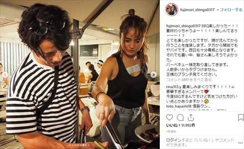 藤森慎吾 王様のブランチ BBQ バーベキュー 渡部建 石田ニコル