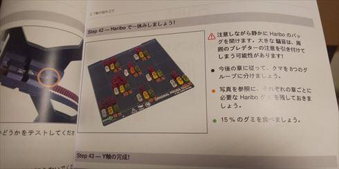 3Dプリンター ハリボー