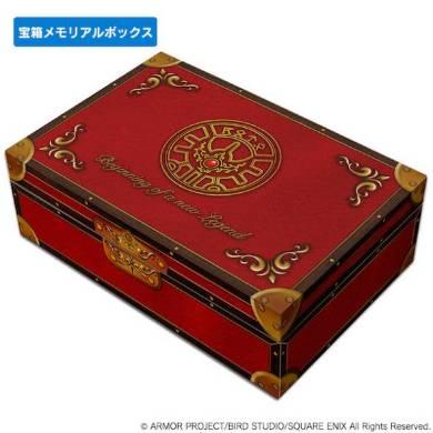 勇者誕生お祝い宝箱:宝箱メモリアルボックスにイメージ