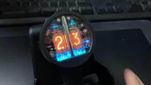 シュタゲ 腕時計 NIXOID ニキシー管 ロマン